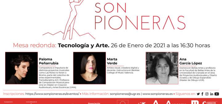 Mujeres profesionales e investigadoras en arte digital. Mesa Redonda «Tecnología y Arte»